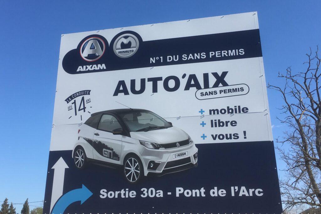 Voiture sans permis Aixam à Aix-en-Provence (13) – Auto'Aix Sans Permis